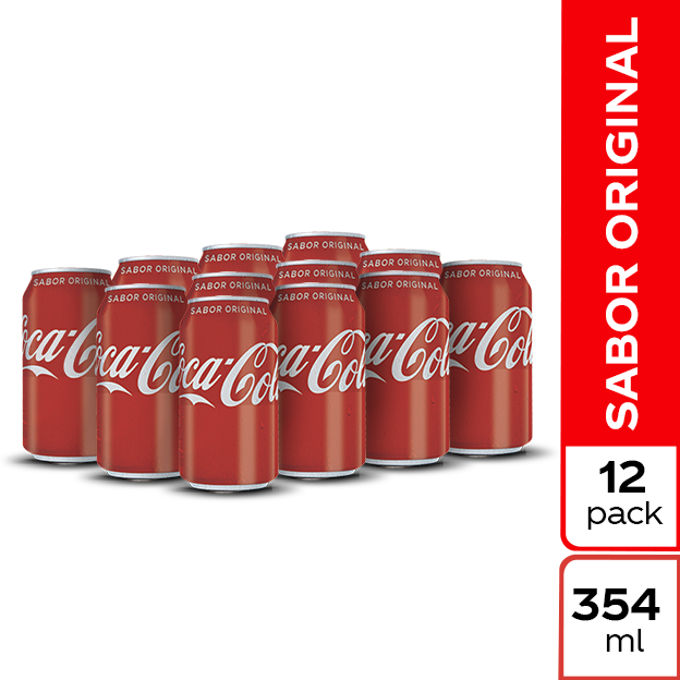 Coca-Cola Original 354 ml 12 pack